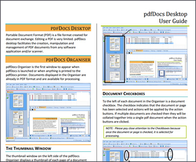 pdfDocs User Guide
